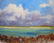 Feenish island carna 11x14 oil on panel