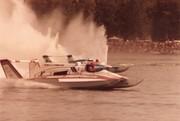 7-31-1983 Tri Cities Heat 2A  American Speedy Printing, Atlas Van Lines