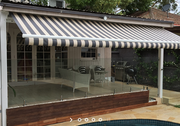 Options Present for Covering the Outdoor Patio Area
