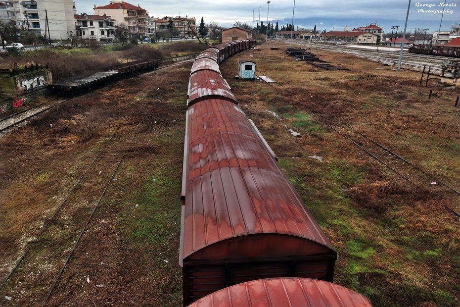 Τρένα που μείναν