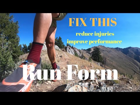 RUN FORM FIX: Do this for INJURY PREVENTION and Run Performance (+ Dynafit Feline Up Pro shoe)