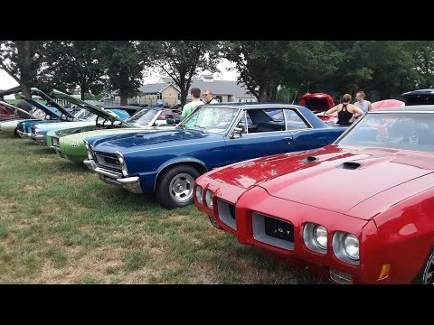 Pontiac GTO At the 2020 GTOAA Eastern Regionals Hosted By the SVGTO Club