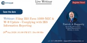 Filing IRS Form 1099-NEC & W-9 Update - Complying with IRS Information Reporting