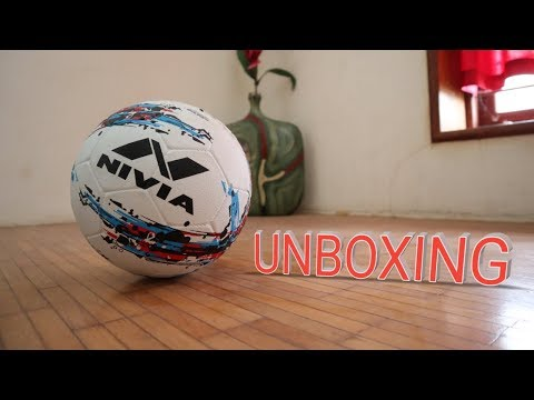 NIVIA STORM  (Size - 5)  FOOTBALL UNBOXING + First Impression