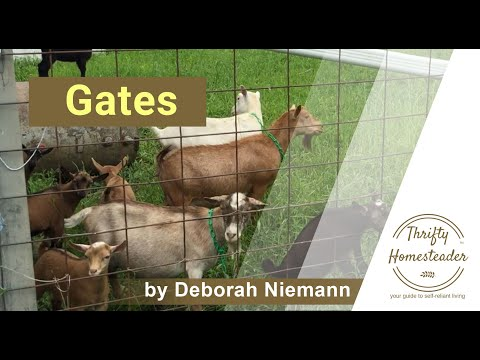 Gates for Goats