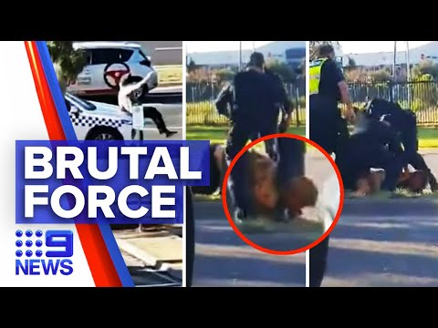 Coronavirus: Mentally ill man in coma after stomped on head by police | 9 News Australia