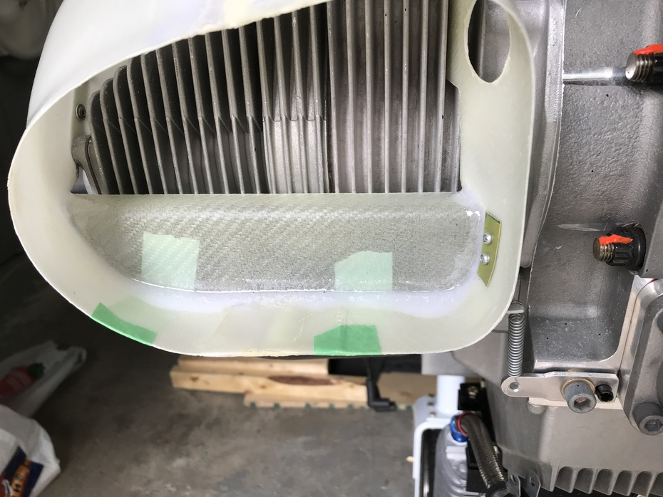right duct baffle