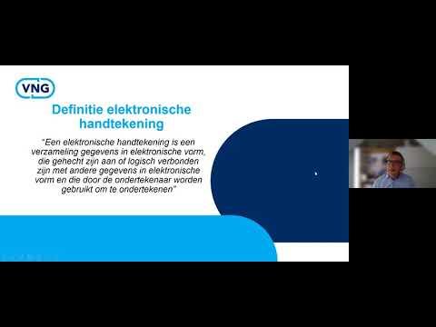 Webinar Elektronische handtekening 1-9-2020 (Grip op informatie)