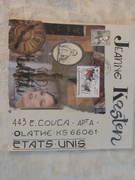 Mail Art from Richard Baudet!