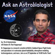 Ask an Astrobiologist with Dr. Ravi Kopparapu