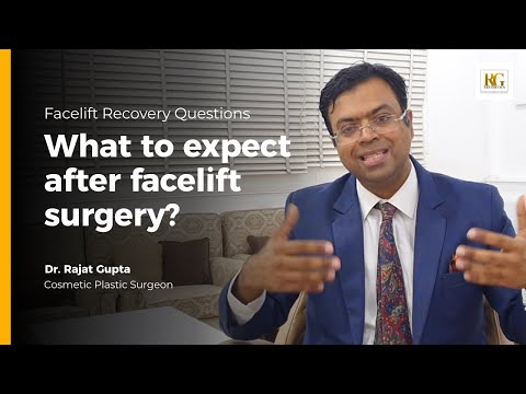 What to expect after facelift surgery? | Facelift Questions |