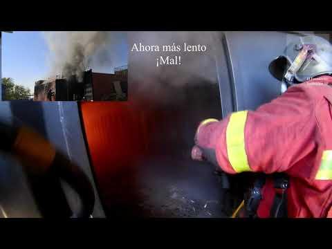 BOMBEROS DEL AYUNTAMIENTO DE MADRID, ENTRENAMIENTO CFBT - ESPAÑA