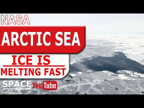 Arctic sea ice reached its annual minimum extent.  The second lowest on record