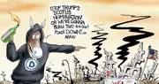 Arsonists threat