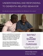 Understanding and Responding to Dementia-Related Behavior - Presented by the Alzheimer's Association