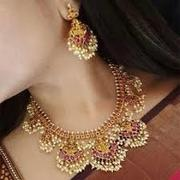 necklace set for bride