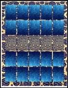 ARTISTAMP SHEET Fantasy in Blue