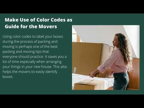 Here are Useful Packing and Moving Tips