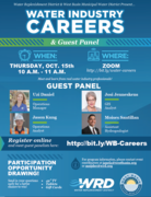 Water Industry Careers and Guest Panel
