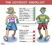 The Covidiot Checklist