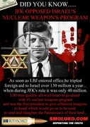 JFK Opposed Israel's Nuclear Weapons Program