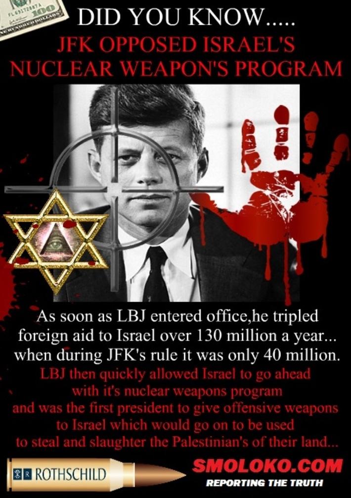 JFK Opposed Israel's Nuclear Weapons Program