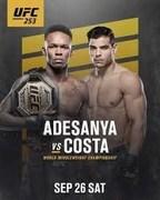UFC 253: Adesanya vs. Costa Full Fight Live