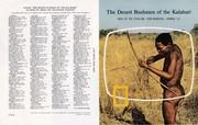 1973 - 3 Apr ~ The Desert Bushmen of the Kalahari (F+B)