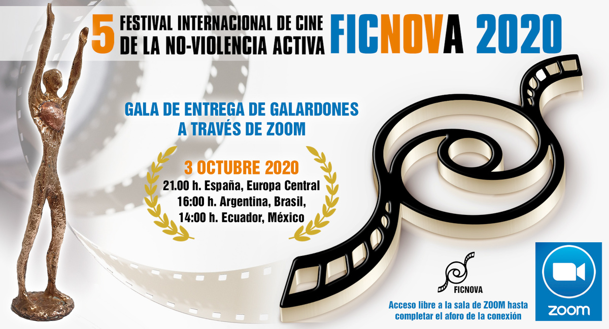 La 5ª entrega de galardones de Ficnova se celebrará de forma virtual / PRENSAMÉRICA ESPAÑA