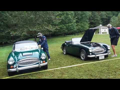 Here Comes the Healeys Austin Healey 3000 At the 2020 41st Annual MGs On the Rocks