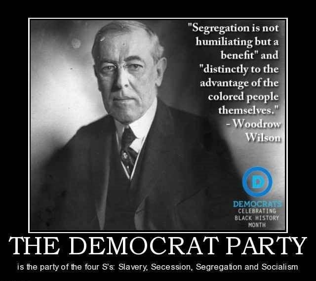 yet misinformed blacks flock to the democratic jew usurped party in Droves