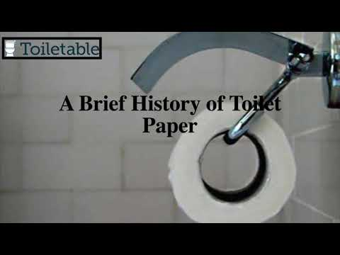 A Brief History of Toilet Paper – Toiletable.com