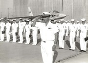 1972 RVAH-6 CHANGE OF COMMAND CDR THOMPSON (2)