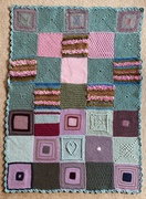 Lockdown No33. Stunning squares  from Melanie Eustace, Croatia and....i