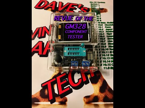 MY REVUE OFTHE GM328 COMPONENT TESTER DAVE's VINTAGE APPLE TECH