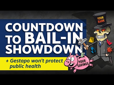 25 Sept 2020 - Citizens Report - Countdown to bail-in showdown / Gestapo won't protect public health