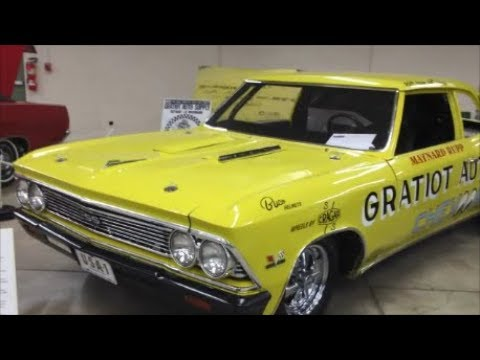 Chevroom  The Worlds Fastest Chevelle Funny Car At the 2018 Indoor National Dragfest