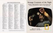 1973 - 1 Jan ~ Strange Creatures of the Night (F+B)