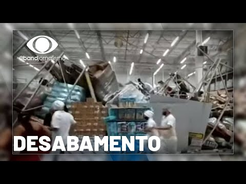 Desabamento: MP vai investigar as causas de acidente em supermercado