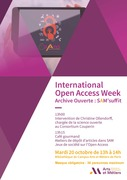 International Open Access Week Archive Ouverte : SAM'suffit