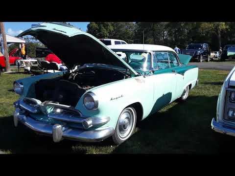 Classic Car Shopping With Pam At the 2020 Fall Carlisle Car Corral 1955 Dodge Royal