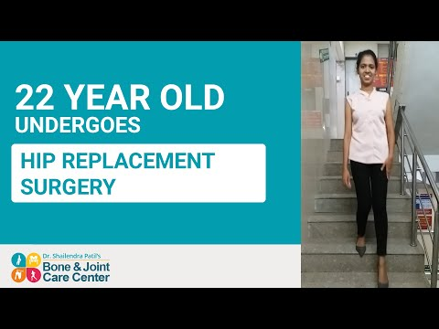Hip Replacement Surgery of 22 yr Old in Thane, Mumbai | Dr. Shailendra Patil