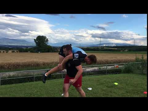 Fireman Carry - Upside Strength Exercise Library