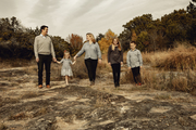 Hamilton Lindley Family in Marble Falls, Texas