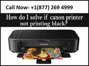 solve black printing issues