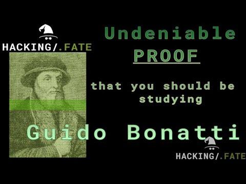 Who was the astrologer Guido Bonatti?