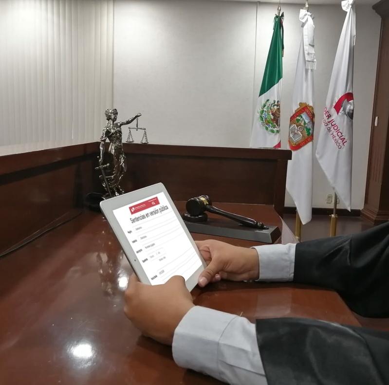 PODER JUDICIAL DEL ESTADO DE MÉXICO HACE PÚBLICAS SUS SENTENCIAS