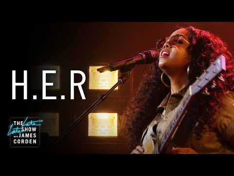 "H.E.R. Performs ""Carried Away"" on The Late Late Show"