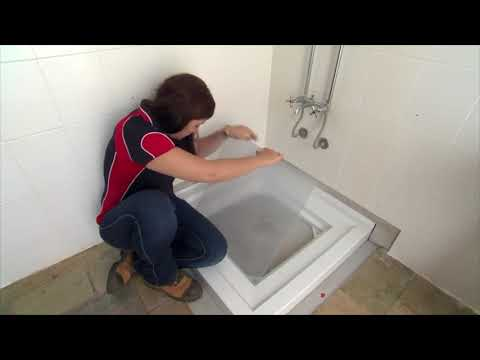 WYDAFLO Adjustable Shower Tray Installation Demo