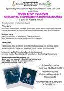 WORKSHOP CREATIVITA E SPERIMENTAZIONE